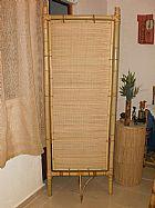 Biombos de bambu para decoracoes de ambientes