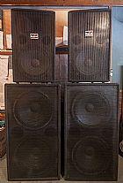 4 caixas de som das