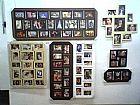 Porta retratos de paredes quadros com fotos art reflexus sp