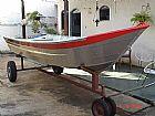 Barco de aluminio borda alta 5 mts novo 2014