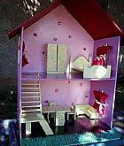 Casinha de boneca,  brinquedo,  crianca,  mdf,  polly