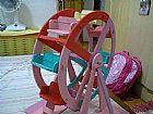 Roda gigante,  brinquedo,  artesanato,  crianca,  mdf enfeite,  festas
