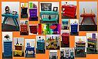 Moveis vintage retro coloridos vila mariana art reflexus sp