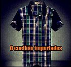 Camiseta gola polo burberry