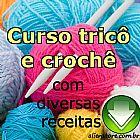 e-book Curso de tricô e croche