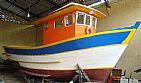 Barco pesca, lazer ou mergulho