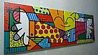 Quadros decorativos romero britto