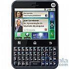 Motorola mb502 preto/azul