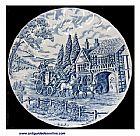 Prato em porcelana inglesa tradicional royal wessex