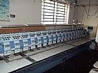 Maquina de bordar happy 18 cabeças 7 agulhas são paulo