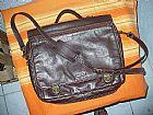 Bolsa seminova notebook couro bagaggio