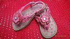 Sandalia infantil menina nº 22 pink