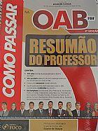 Para a prova da oab