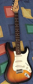 Guitarra shelter stratocaster
