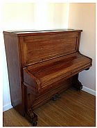 Piano h. kohl - hamburgo - premiado - maquina original