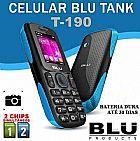 Celular 2 chip blu tank fm bluetooth camera bateria 30 dias barato frete gratis em sao paulo