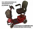 Quadriciclo scooter mobility - cadeira de rodas motorizada