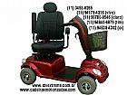 Scooter mobility - cadeira de rodas motorizada