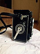 Camera analogica antiga rolleiflex