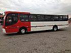 Ônibus urbano caio apache vip, 02 portas, mercedes 1721, dianteiro