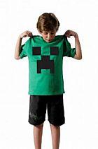 Camiseta Minecraft Game Algodao