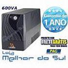 Nobreak vista plus 600 va - monovolt 220v