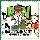 Faixas border decorativas infantis - ben 10