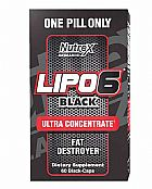 Lipo 6 black ultra concentrado 60 caps
