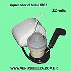 Aquecedor c/ turbo 220 volts