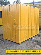 Container fixo almoxarifado para obras