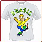 Camisa masculina Homer