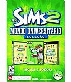 Game the sims 2 colecao mundo universitario (inclui 3 jogos) - pc