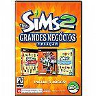 Game the sims 2 colecao grandes negocios (inclui 3 jogos) - pc