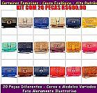 Kit com 20 carteiras femininas para revenda