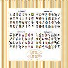 Kit de 32 tatuagem temporaria infantil 3 x 4 para festas