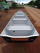 Barco de aluminio borda alta 5 mts,  2015,  novo.