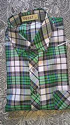 Camisa masculina xadrezada