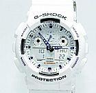 Relogio Casio G-Shock GA-100A-7ADR com um ano de garantia