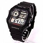 Relógio Ae-1200wh-1av relogio casio digital,  original,  bateria 10 anos,  100 metros,  hora