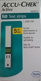 So 40 reais - fitas para teste de glicose