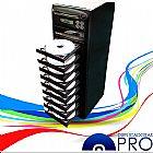 Duplicadora de dvd e cd com 10 gravadores samsung