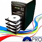 Torre de dvd e cd com 5 gravadores samsung - duplicadoras pro