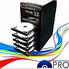 Torre de dvd e cd com 6 gravadores samsung - duplicadoras pro