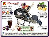 Ameixa,    máquinas despolpadeiras macanuda