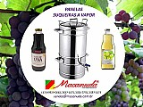 Extratora de suco de uva em aço inox haubermaschinen