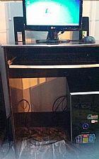 Computador completo com rack