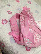 Mochila transversal rosa