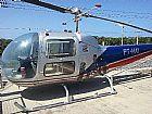 Helicóptero bell 47 j ano 1960 de colecionador