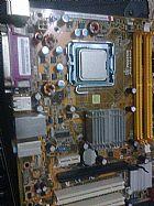 Placa mae e proc dual core e 3.o de memoria