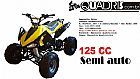 Promocao quadriciclo quadris 125cc semi/automatico com aro 7